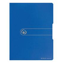 Herlitz Sichtbuch A4 PP opak blau 20 Hüllen