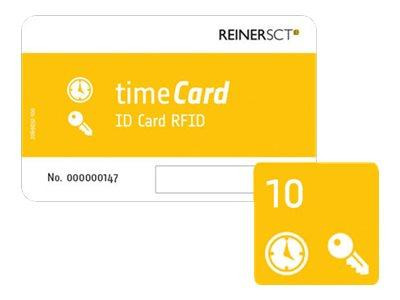 REINER SCT timeCard RFID Chipkarten 10 DES