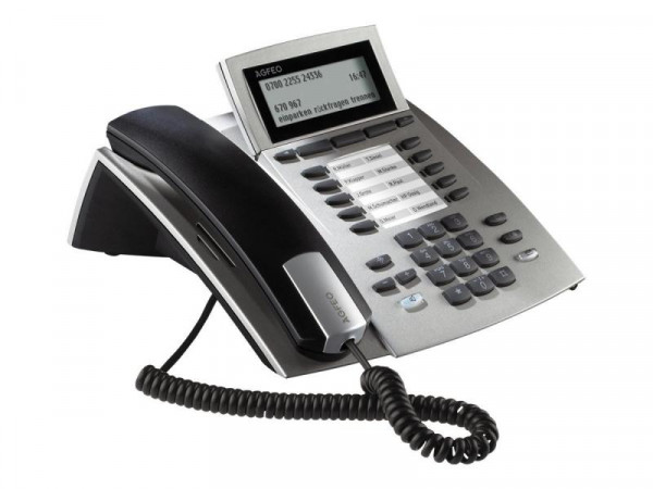 (B-Ware) AGFEO Systemtelefon ST42 silber