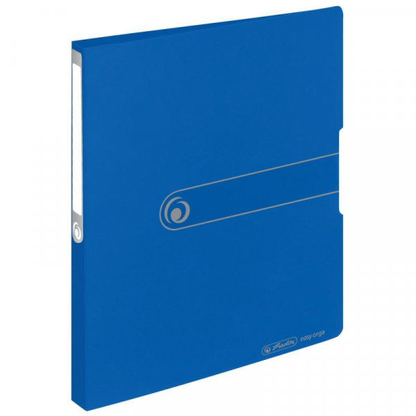 Herlitz Ringbuch A4 PP 16mm opak blau to go 2 Ringe