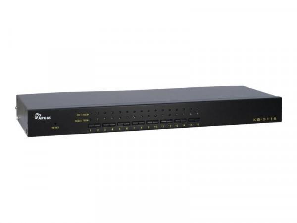 Inter-Tech KVM Switch KVM KS-3116