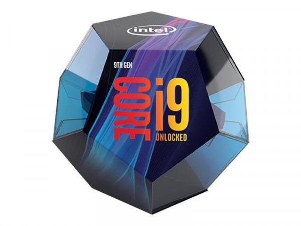 Intel Core i9 9900K 1151 8x3,6GHz 16MB boxed o. Kühler!