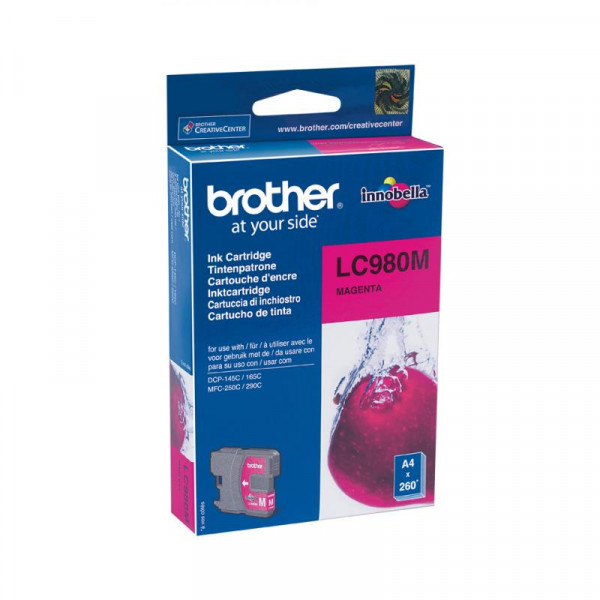 Brother LC980MBPDR - Magenta - Original - Blisterverpackung