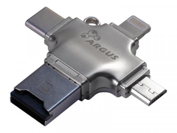 Inter-Tech Argus R-010 - Kartenleser (TransFlash, microSD, microSDHC, microSDXC)