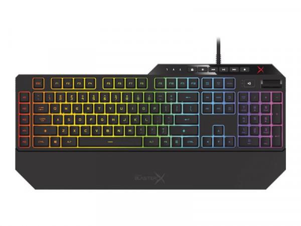 Tastatur mech. Sound BlasterX Vanguard K08 Omron Creative PRES
