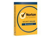 Symantec Norton Security Deluxe - (v. 3.0) - Abokarte (1 Jahr)