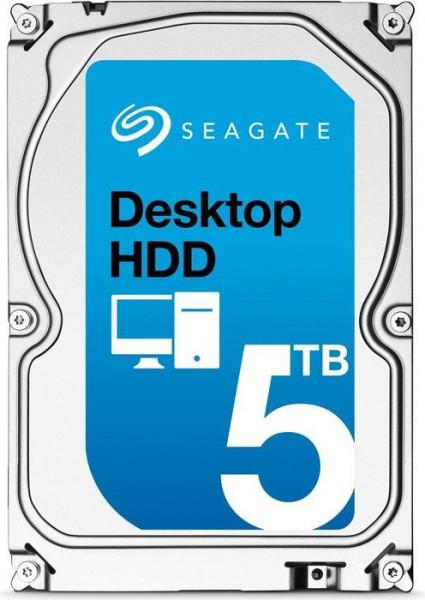 "Seagate 8.9cm (3.5"") 5TB SATA3 Desktop HDD 7200 128MB"