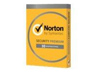 Symantec Norton Security Premium - (v. 3.0) - Abokarte (1 Jahr)