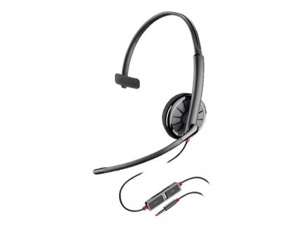 Plantronics Headset Blackwire C215 Monaural NC 3,5mm Klinken