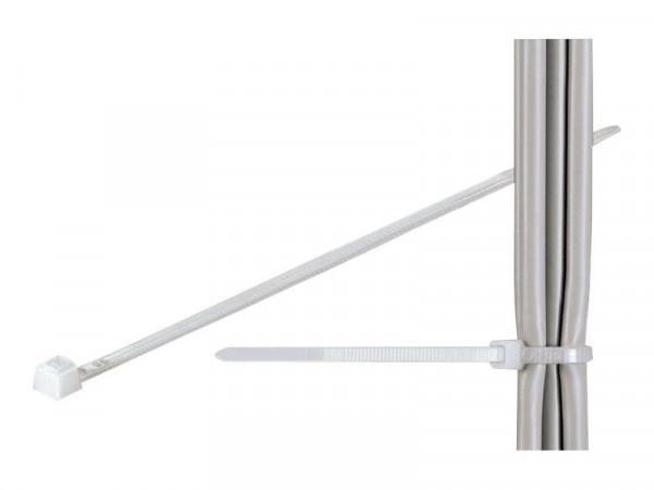 Kabelbinder  2,5mm*20cm  100 Stück  white