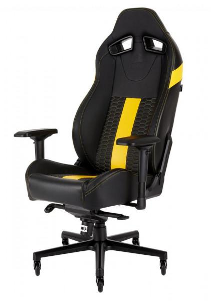 CORSAIR Gaming Stuhl Corsair T2 Road Warrior schwarz/gelb
