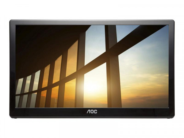 "AOC 39,6cm (15,6"") I1659FWUX 16:9 USB IPS 5ms black"