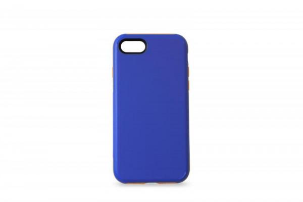KMP Schutzhülle Apple für iPhone 8 Sporty Case blue/orange