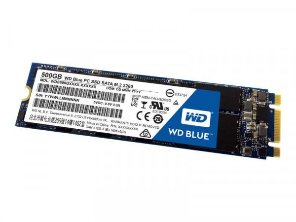 SSD 500GB WD Blue M.2 (2280) SATAIII intern bulk
