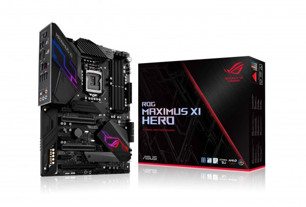Mainboard ASUS ROG MAXIMUS XI HERO (Intel,1151,DDR4,ATX)