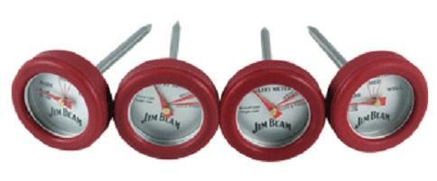 Jim Beam Minithermometer Set 4 Stück JB0134