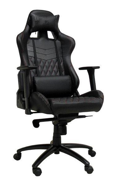 LC-POWER Gaming Stuhl LC-Power LC-GC-3 schwarz/schwarz