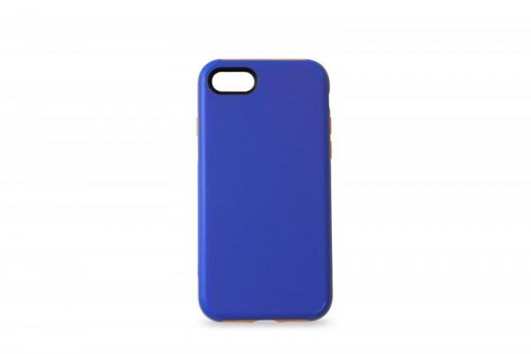 KMP Schutzhülle Apple für iPhone 8+ Sporty Case blue/orange