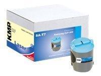 KMP SA-T7 - 70 g - Cyan - Tonerpatrone (Alternative zu: Samsung CLP-C300)
