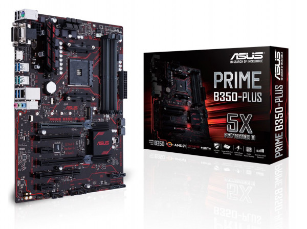 Mainboard ASUS PRIME B350-PLUS B350 AM4