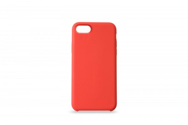 KMP Schutzhülle Apple für iPhone 8+ Silikon Case red