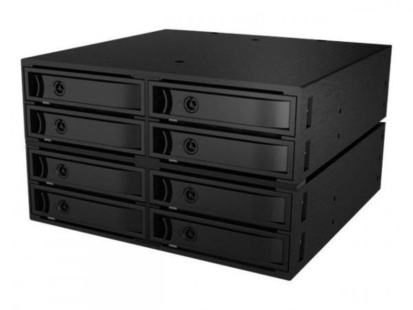 "Backplane IcyBox 8x2,5"" SATA/SAS HDD/SSD -> 2x 5,25"""