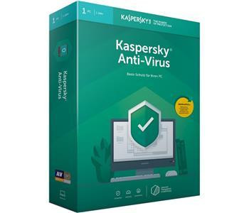 Kaspersky Anti-Virus 2019 - Box-Pack (1 Jahr) - 1 PC (Frustration-Free Packaging)
