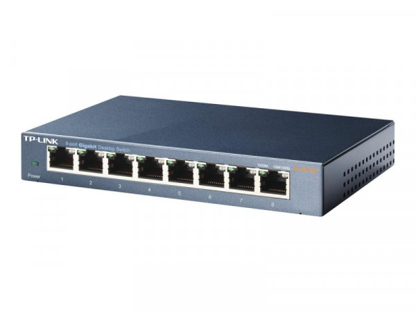 Switch TP-Link 8x GE TL-SG108E