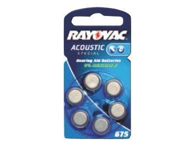 Rayovac Batterie ACOUSTIC SPECIAL 675AU-6MFas 6St.