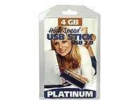 BestMedia Platinum - USB-Flash-Laufwerk - 4 GB