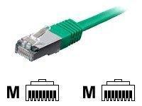 Equip Patchkabel Cat6A S/FTP 2xRJ45 5.00m grün