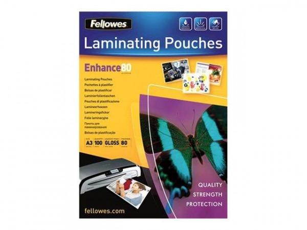 Fellowes Laminierfolie Capture A3 80 Mikron 100er Pack