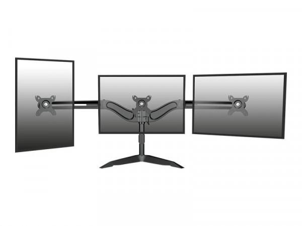 """Monitor Arm IcyBox 3 Monitore bis zu 24"""" schwarz extern"""