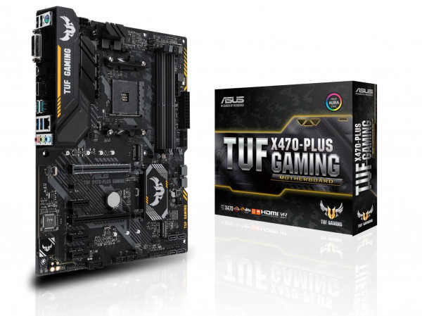 Mainboard ASUS TUF X470-PLUS GAMING X470 AM4 Gaming MB