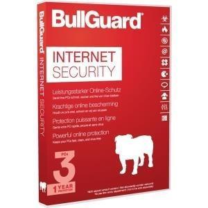 BullGuard Internet Sec. 2017 1YR/3PC WIN Attach Soft Box