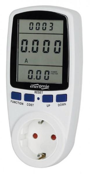 GEMBIRD Smartes Energiemessgerät m. Steckdose 16A