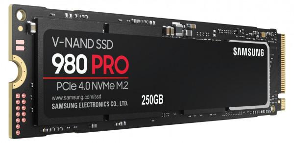 SSD 250GB Samsung M.2 PCI-E NVMe Gen4 980 PRO Basic