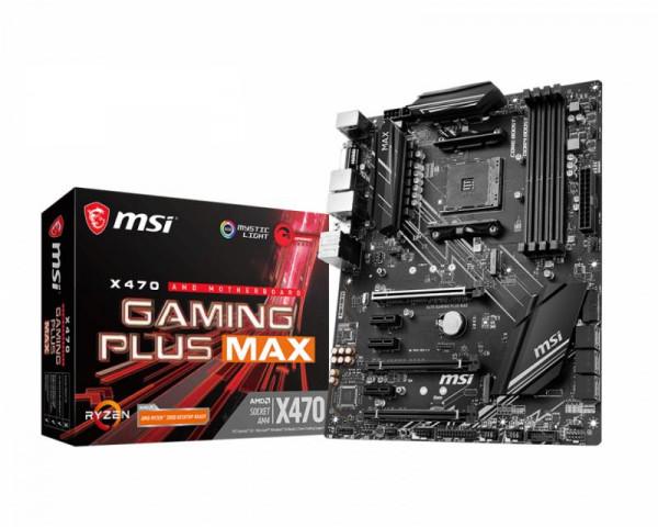 Mainboard MSI X470 Gaming PLUS MAX (X470,ATX,DDR4,AMD)