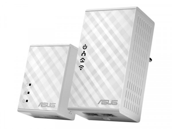 ASUS PL-N12 Kit - Bridge - 2-Port-Switch - HomePlug AV (HPAV)