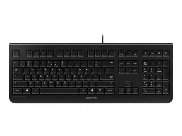 Cherry KC 1000 - Tastatur - Englisch - US - Schwarz