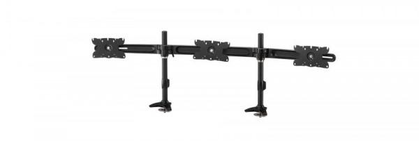 """Monitor Arm IcyBox 3 Monitore bis zu 30""""/10kg neig&schw (bl)"""