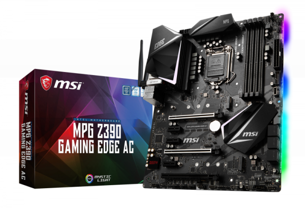Mainboard MSI MPG Z390 GAMING EDGE AC (Z390,S1151,ATX,DDR4,Intel)