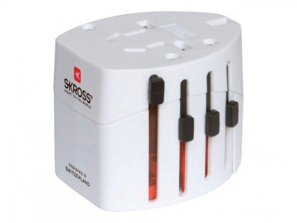 Reiseadapter Skross World Travel Adapter 2