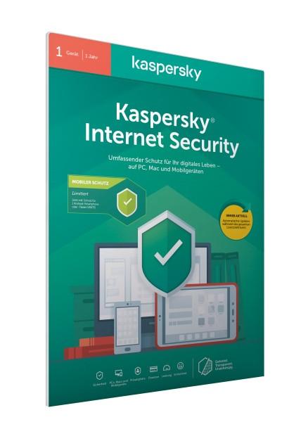 Kaspersky Internet Security 2020 + Android 1User FFP