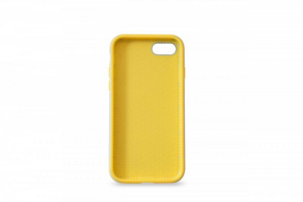 KMP Schutzhülle Apple für iPhone 8 Sporty Case grey/yellow