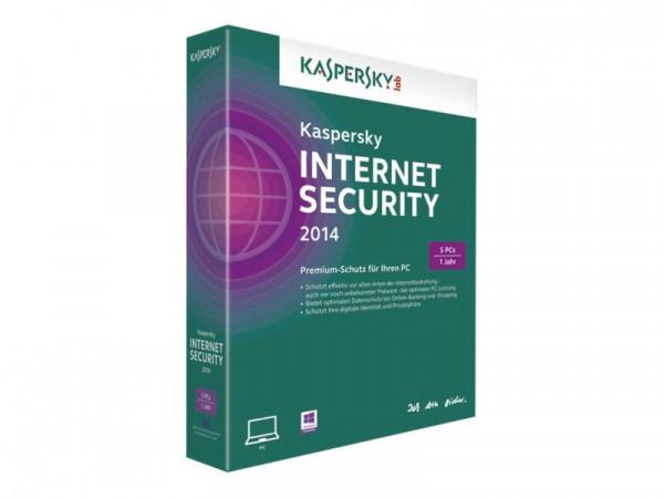 Kaspersky Internet Security 2014 5 User Mini Box