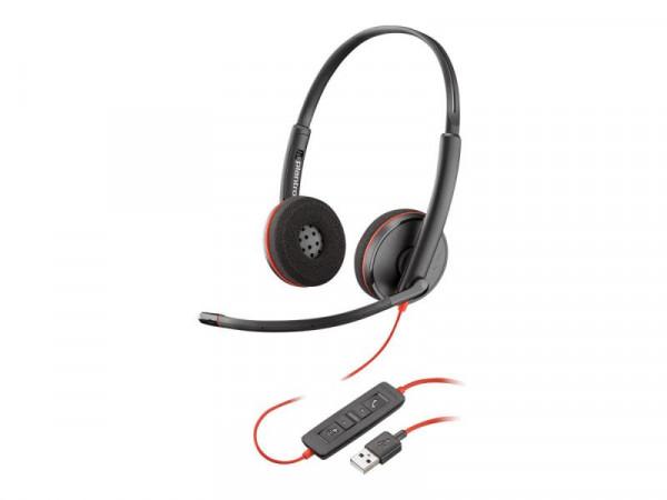 Plantronics Headset Blackwire C3220 binaural USB