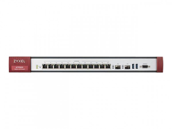 ZyXEL Router Firewall ATP800 inkl. 1 J. Security GOLD Pack