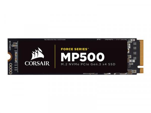 Corsair Force Series MP500 - 240 GB SSD - intern - M.2 2280 - PCI Express 3.0 x4 (NVMe)