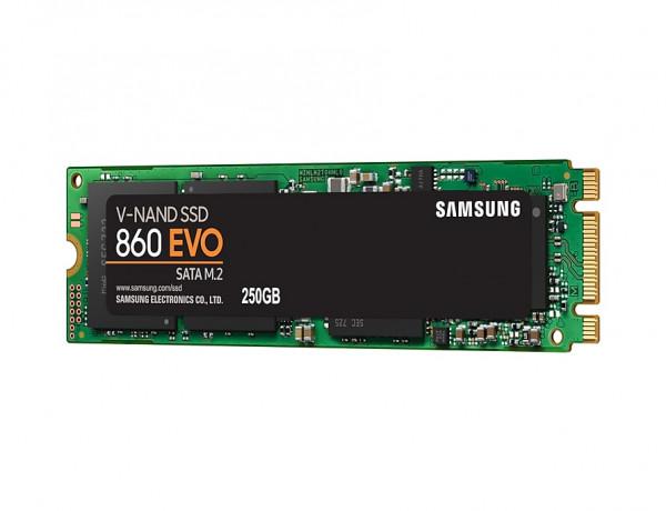Samsung 860 EVO MZ-N6E250BW - 250 GB SSD - intern